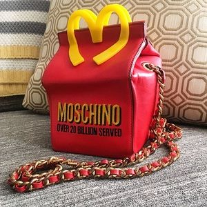 78b8f4ad6c Moschino McDonald's Happy Meal Novelty Bag